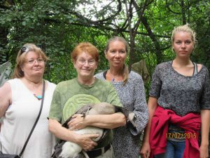 Maureen, Christine, Eva and Lisa -2015Jul
