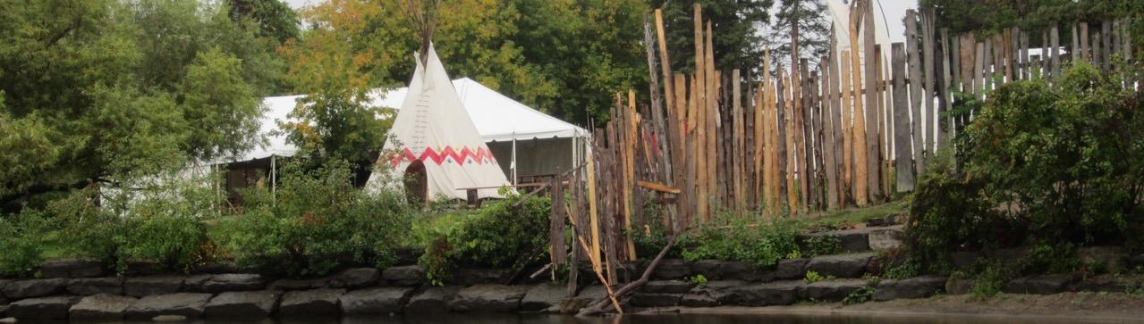 Victoria Island with fence and teepee -cropped